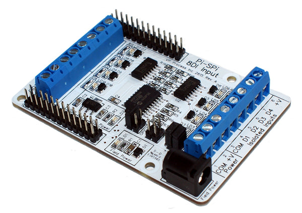 Raspberry Pi Pi-SPi-8DI Isolated Digital Input Module