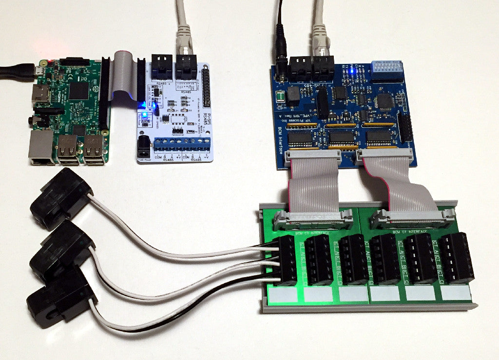Raspberry Pi and Power Monitoring with RS485 Interfaces