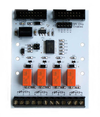 PI-SPI-DIN-4KO Raspberry Pi DIN Relay Output Interface