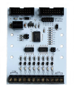PI-SPI-DIN-8DI Raspbery Pi DIN Isolated Digital Input Interface