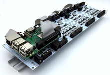 PI-SPI-DIN-4AO Raspberry Pi DIN Rail Analog Output 4-20mA Interface