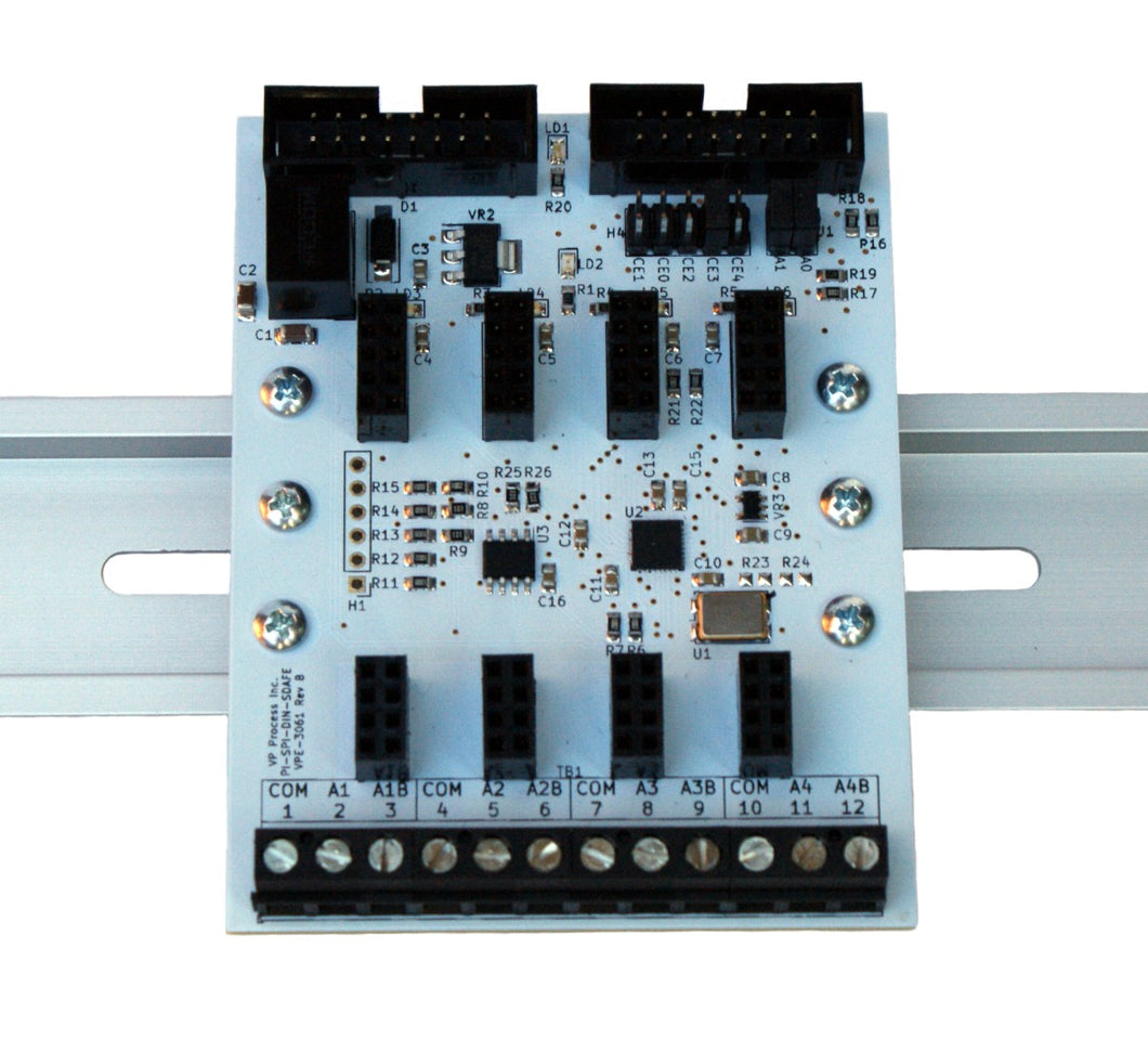 PI-SPI-DIN-SDAFE Expansion Module for SDAFE™Software Defined Modules