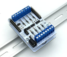 PI-SPI-8AI Analog Input 4-20mA Interface Raspbery Pi DIN Rail Mount