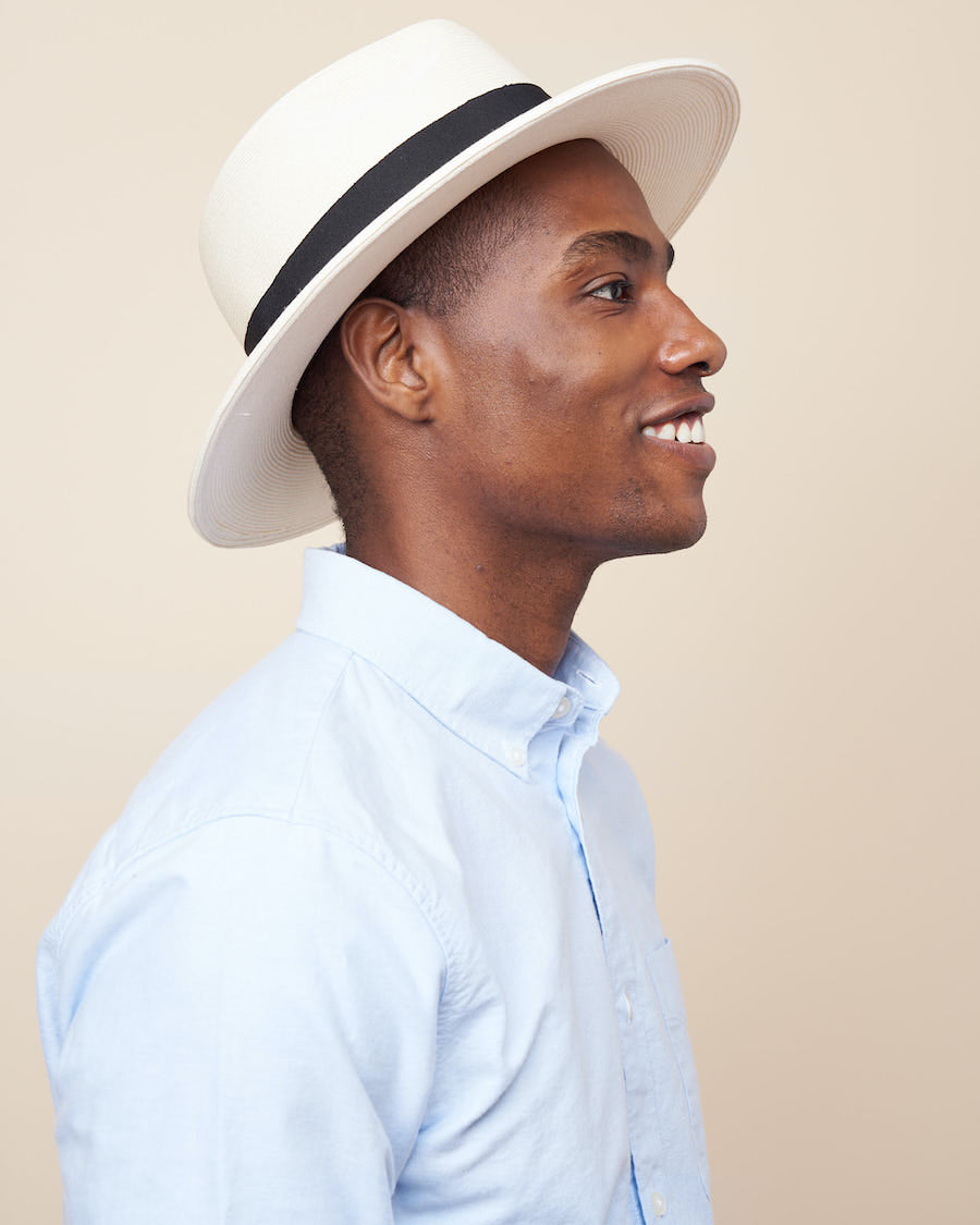 The Amari Bowtie-White