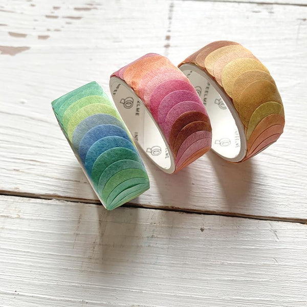 Pois colorati washi tape