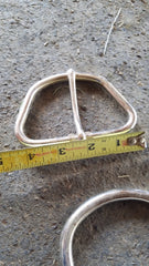 "4"" Nickel Plated Buckle"