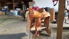 Hereford All Around Saddle - used
