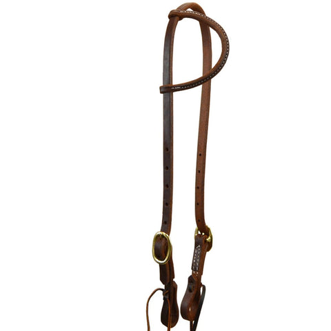 Tack:  Dark Oil Headstall