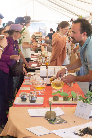 Portland Tea Fest - Young Mountain tea