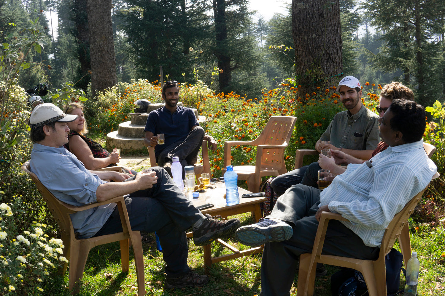 About us. Why tea matters. Tea meeting in Kumaon India