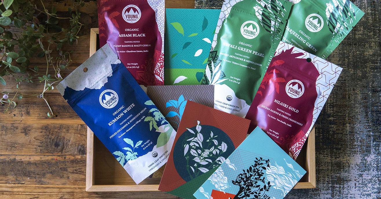 Subcontinental Explorer: Loose-leaf Teas from Five Regions of India & Nepal + Notecards