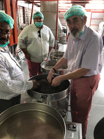 Tea factory and machinery to produce organic loose leaf tea
