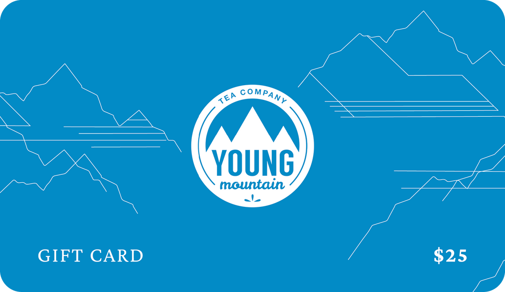 Young Mountain Tea Gift Card US$25.00 Gift Card