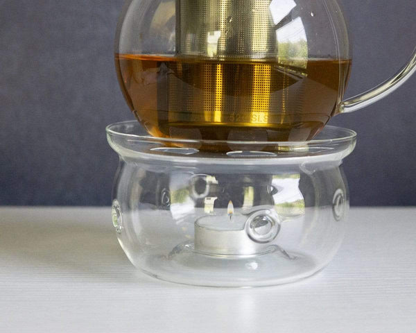 Young Mountain Tea Gifts Glass Teapot Warmer