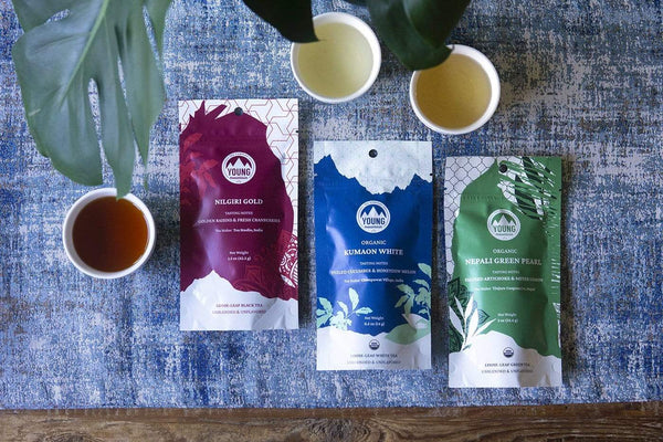 Young Mountain Tea Tea Small New Origins Tea Bundle