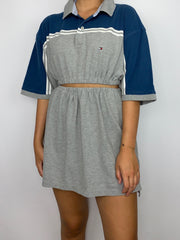 Tommy Hilfiger Co-Ord Blue Grey
