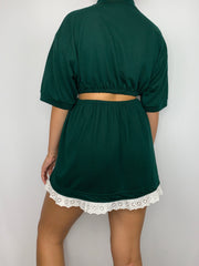 Ralph Lauren Dark Green Lace Co-Ord