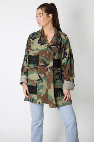 Outer Banks Harley Reworked Camo Jacket