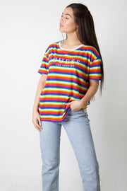 Rainbow Guess Embroidered Deadstock Tee