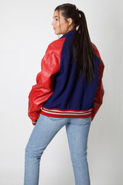 CLHS Band Faux Leather Varsity Jacket