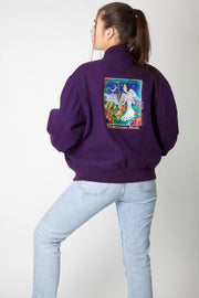 Gardening Angel Varsity Jacket