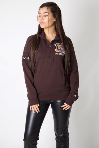 Brown University Embroidery Champion 1/4 Zip