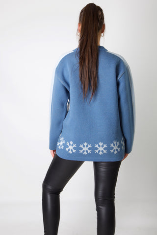 Tweety Snow Flakes Knit Jumper
