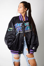 Tampa Bay Rays 80s Baseball Jacket
