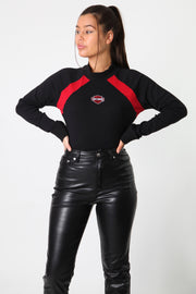 Harley Embroidered Logo Turtle Neck Longsleeve