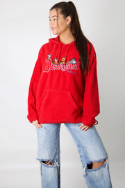 Disneyland Embroidered Fleece Hoodie