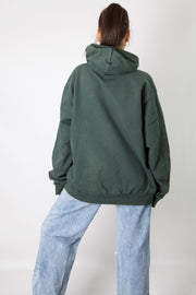 Dark Green Made In USA Champion Hoodie