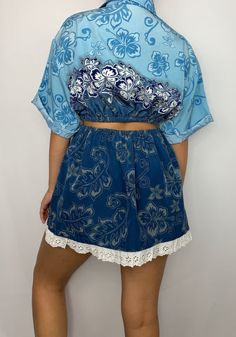Hawaii Ocean Flowers Co-Ord