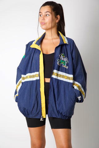 Notre Dame Fighting Irish 90's Windbreaker