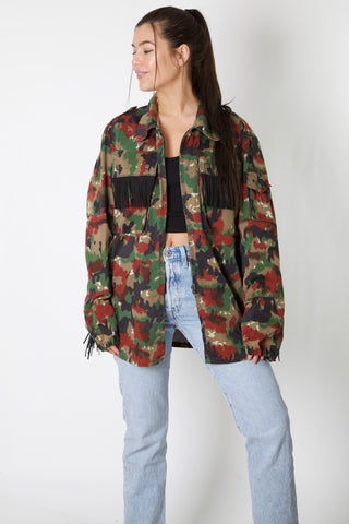 City Cycle Harley Reworked Camo Jacket