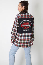 Thunder Mountain Harley Reworked Flannel