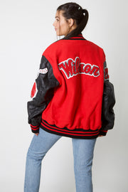 Class Of 2021 Leather Varsity Jacket