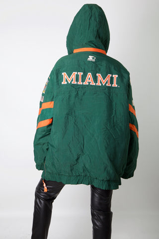 Miami Hurricanes Starter Jacket