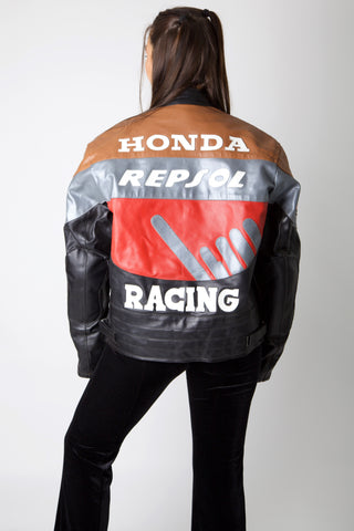 Honda Repsol Leather Racing Jacket