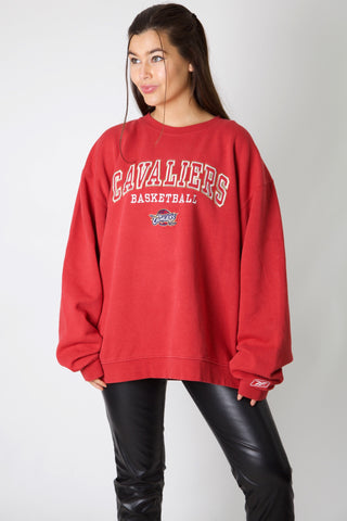 Cleveland Cavaliers Embroidery Crewneck