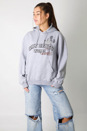 Disney Embroidered Spell Out Hoodie