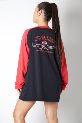 Live To Ride Harley Longsleeve