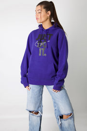 Nike Just Do It Print Hoodie