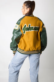 P Johnson Varsity Jacket