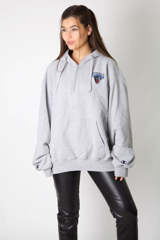 Maine Uni Embroidery Champion 1/4 Zip Hoodie