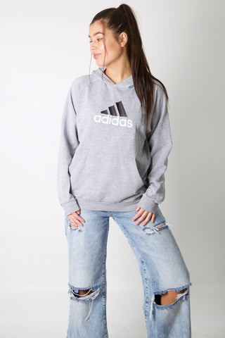 Adidas Embroidered Logo Hoodie
