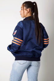 Chicago Bears 80s Superbowl NFL Bomber Jacket