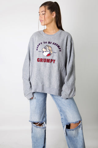 Happy To Be Grumpy Fleece