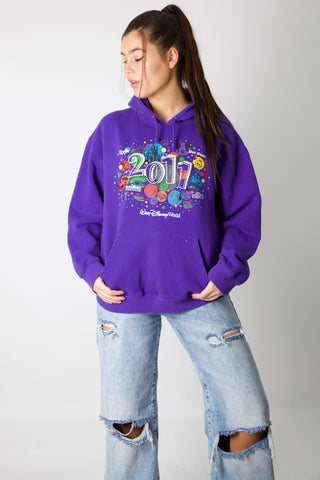 2011 Disney World Embroidery Hoodie