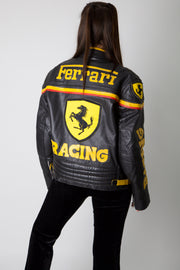 Ferrari Leather Racing Jacket