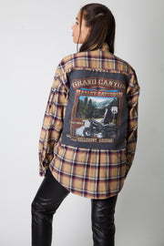 Grand Canyon Reworked Corduroy Flannel